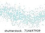 light blue vector red banner... | Shutterstock .eps vector #714697939