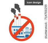 factory pollution world | Shutterstock .eps vector #714703255