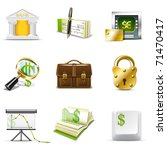 banking icons   bella series   Shutterstock .eps vector #71470417