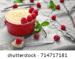composition with vanilla...   Shutterstock . vector #714717181