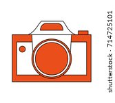 photographic camera icon image | Shutterstock .eps vector #714725101