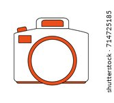 photographic camera icon image | Shutterstock .eps vector #714725185
