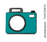 photographic camera icon image | Shutterstock .eps vector #714725971
