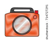 photographic camera icon image | Shutterstock .eps vector #714727291