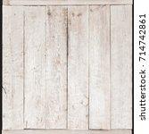 white wood texture background | Shutterstock . vector #714742861