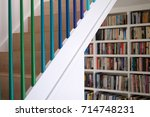 Domestic Wooden Staircase With...