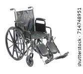 Wheelchair With Padded Arms An...