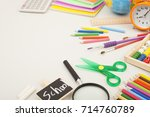 stationery | Shutterstock . vector #714760789