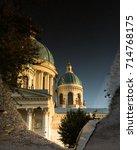 saint petersburg trinity... | Shutterstock . vector #714768175