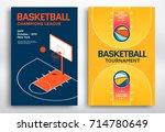 basketball tournament sports... | Shutterstock .eps vector #714780649