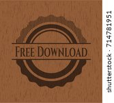 free download wood emblem. retro