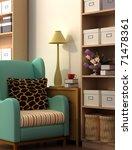 rendering interior fashionable... | Shutterstock . vector #71478361