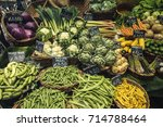 Selection Of Fresh Vegetables...