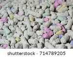texture of cellulose or paper... | Shutterstock . vector #714789205