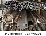 cable protection pipes  ready... | Shutterstock . vector #714790201