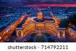 St. Petersburg. Kazan Cathedral. Panorama of Petersburg.