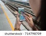 bangkok  thailand   june 2 ... | Shutterstock . vector #714798709