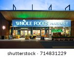 Whole Foods At Night In...