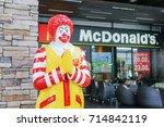 bangkok   august 22   ronald...   Shutterstock . vector #714842119