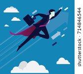 vector illustration. business...   Shutterstock .eps vector #714846544