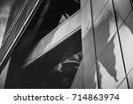 abstract architecture detail | Shutterstock . vector #714863974