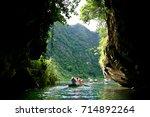 trang an scenic landscape... | Shutterstock . vector #714892264