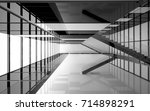 abstract white and black... | Shutterstock . vector #714898291