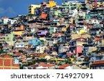 slums of izmir  turkey | Shutterstock . vector #714927091