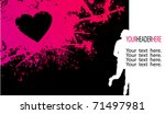 illustration of girly... | Shutterstock .eps vector #71497981