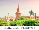 budapest  hungary. view of the... | Shutterstock . vector #714980275