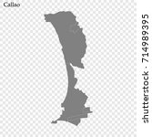 high quality map of callao is a ... | Shutterstock .eps vector #714989395