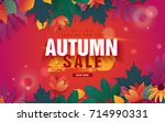template design discount web... | Shutterstock .eps vector #714990331