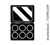 eye shadow icon | Shutterstock .eps vector #714991249