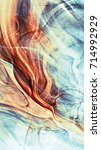 beautiful painting banner.... | Shutterstock . vector #714992929
