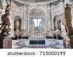 vatican   march 16  2016  the... | Shutterstock . vector #715000195