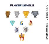 player levels from 1 to 10...