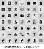 productivity icons | Shutterstock .eps vector #715036774