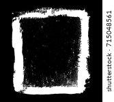 vector grunge frame.grunge... | Shutterstock .eps vector #715048561