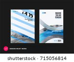 design of business vector... | Shutterstock .eps vector #715056814