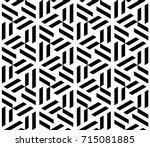 vector seamless pattern. modern ... | Shutterstock .eps vector #715081885