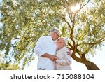 old age  love and people... | Shutterstock . vector #715088104