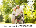 active old age  technology and... | Shutterstock . vector #715088107
