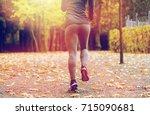 fitness  sport  people  wear... | Shutterstock . vector #715090681