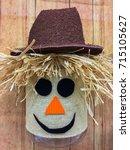 straw man | Shutterstock . vector #715105627