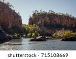Great Sandstone Cliffs At...
