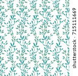 seamless vector pattern with... | Shutterstock .eps vector #715111669