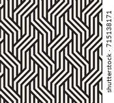 vector seamless pattern. modern ... | Shutterstock .eps vector #715138171
