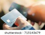 Mobile Payments Concept. A Man...