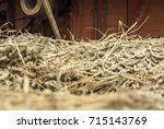 Closeup Of Milled Wheat Given...