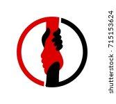 help logo | Shutterstock .eps vector #715153624